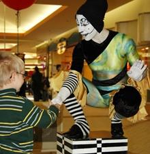 -003-   La mime statue