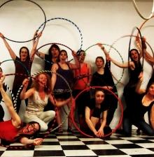 -098- Atelier de Hula-Hoop