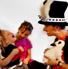 Magicien visuel avec animaux -051-