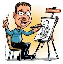 Le Caricaturiste -018-