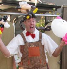 -091-  » Le Ballounes Party de M.Petit»  Fête d'enfant