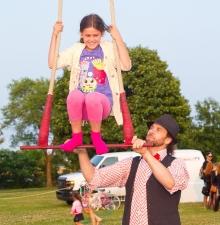 -096- Atelier d'initiation au trapèze et cirque