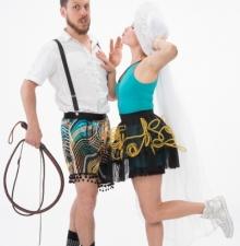 -125-   Spectacle de cirque en Duo :  familiale et humoristique.