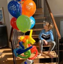 -052-   Livraison de Bouquets de Ballons Hélium