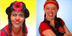 193- Duo clownesque Flavia et Marimba