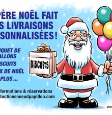 199- Le Père Noël fait des Livraisons Personnalisées !