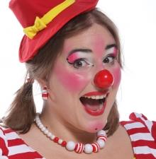 La Clowne colorée dynamique (017)
