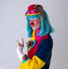 La Clowne joyeuse et délicate (025)