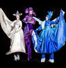Les fées échassières, animation ambulante (105)