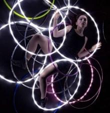 Hula-Hoop Lumineux, animation ambulante (028)