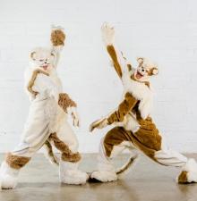 Duo les Belettes, animation déambulatoire (045)