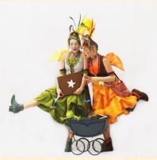 Les apprenties Ébouriffées, animation ambulante (176)
