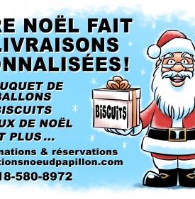Le Père Noël fait des Livraisons Personnalisées ! (199)
